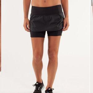 🍋Lululemon🍋 Squad Speed Skirt Black
